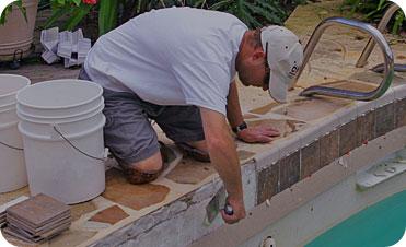 Reparação e reconstrução da sua piscina