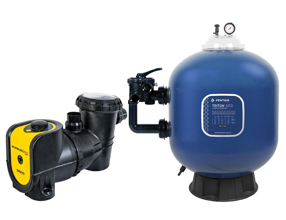 Sistema de Filtração para piscinas