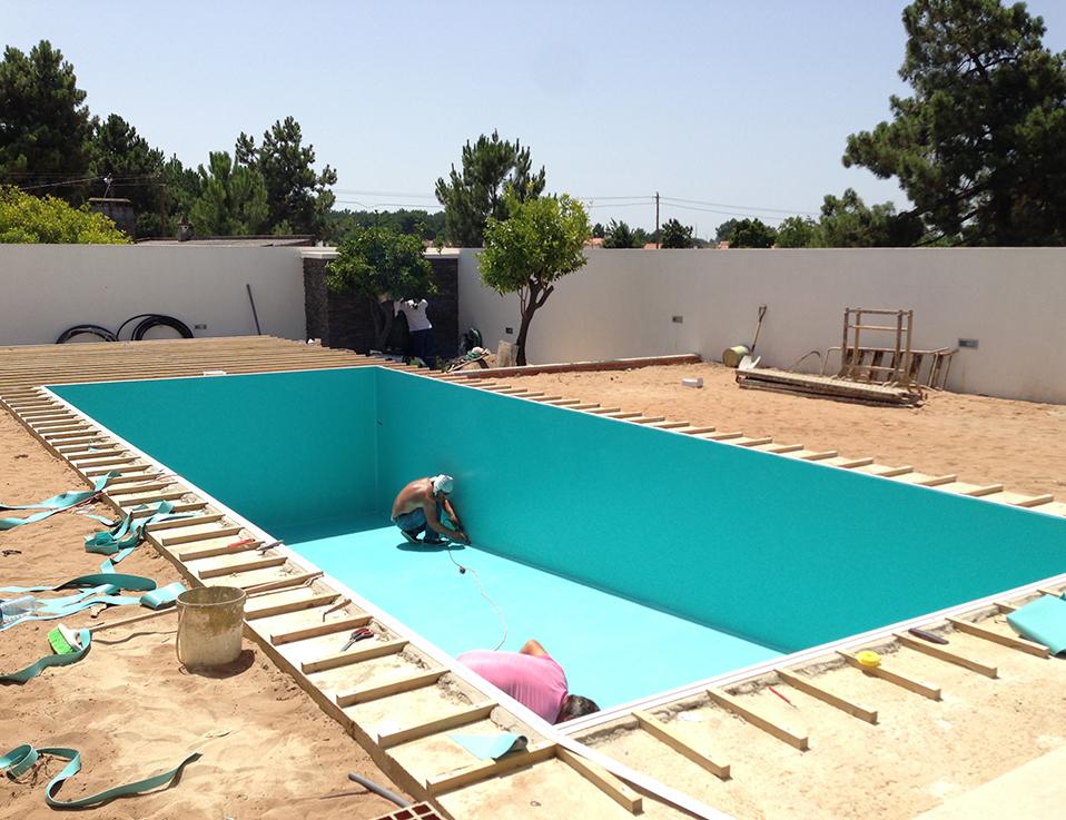 Revestimentos Tela reforçada piscinas