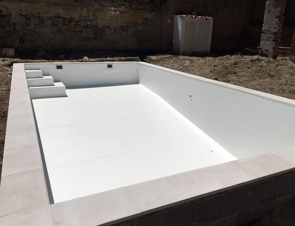 revestimentos Construção e reparação de piscinas Mundial Piscinas